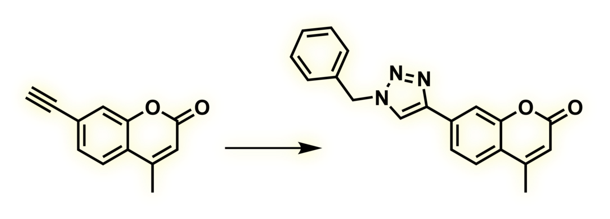 triazole fluorophores